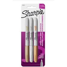 SAN 1823815 Sanford Sharpie Metallic Permanent Markers SAN1823815