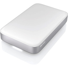 "Buffalo MiniStation Thunderbolt HD-PATU3 1 TB 2.5"" External Hard Drive - Silver"