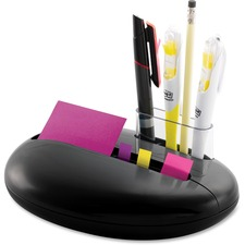 "Post-it® Pop-up Notes Dispenser, 3"" x 3"" Notes and Assorted Flags, Pebble Collection by Karim"