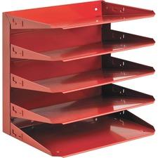 MMF 26425L007 MMF Industries Soho 5-tier Horizontal Organizer MMF26425L007