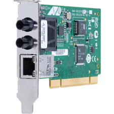 32bit 100mbps Dual Fiber And Cu Fast Enet Fiber Adapter Card / Mfr. No.: At-2701ftxa/St-901