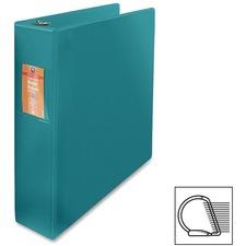 "Wilson Jones Heavy-duty D-ring Binder - 2"" Binder Capacity - Letter - 8 1/2"" x 11"" Sheet Size - 3 x D-Ring Fastener(s) - Internal Pocket(s) - Chipboard, Polypropylene - Green - Heavy Duty, Spine Label, Sheet Lifter, PVC-free, Non-stick, Durable - 1 Each"