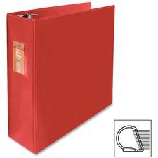 "Wilson Jones Slant-D Ring Binders - 3"" Binder Capacity - Letter - 8 1/2"" x 11"" Sheet Size - 3 x D-Ring Fastener(s) - Internal Pocket(s) - Chipboard, Polypropylene - Burgundy - Heavy Duty, Spine Label, Sheet Lifter, PVC-free, Non-stick, Durable - 1 Each"