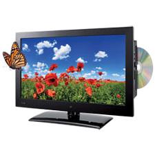 "GPX TDE1982B 18.5"" TV/DVD Combo - HDTV - 16:9 - 1366 x 768 - 720p"