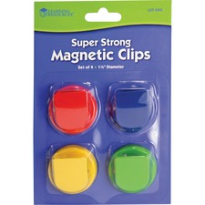 LRN LER2692 Learning Res. Super Strong Magnetic Clips Set LRNLER2692