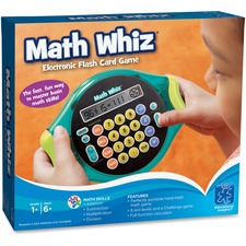 EII 8899 Eductnl Insights Math Whiz Electronic Card Game EII8899