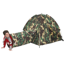 Pacific Play Tents Command HQ Tent & Tunnel Combo