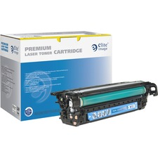 Elite Image Remanufactured Toner Cartridge - Alternative for HP 648A (CE261A) - Laser - 11000 Pages - Cyan - 1 Each