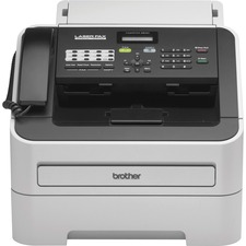 Brother IntelliFax-2840 High-Speed Laser Fax - Laser - Monochrome Sheetfed Digital Copier - 20 cpm Mono - 300 x 600 dpi - 250 Sheets Input - Plain Paper Fax - Corded Handset - 33.60 kbit/s Modem