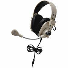 CII 3066AVT Califone 3066AVT To Go Plug Deluxe Stereo Headset CII3066AVT