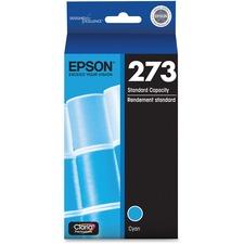 Epson Claria 273 Original Ink Cartridge - Cyan - Inkjet - Standard Yield