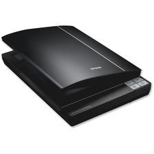 Epson Perfection V370 Flatbed Scanner - 4800 dpi Optical - 48-bit Color - 16-bit Grayscale - USB