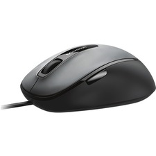 Microsoft Comfort Mouse 4500 - BlueTrack - Cable - Black - 1 Pack - USB 2.0 - 1000 dpi - Tilt Wheel - 5 Button(s)