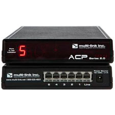Multi-Link ACP-500 Out-of-Band Network Switch & Call Router - 5 Device Ports