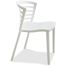 SAF 4359WH Safco Entourage Stacking Chairs SAF4359WH