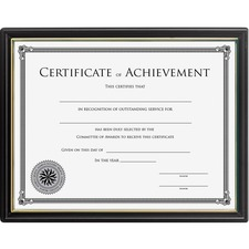 Lorell Multipurpose Frame w/Cert. of Achievement