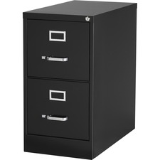 LLR 88034 Lorell Commercial Grade Black Vertical Files LLR88034