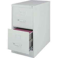 LLR 88035 Lorell Fortress Series Light Gray Vertical Files LLR88035