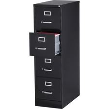 LLR 88037 Lorell Commercial Grade Black Vertical Files LLR88037