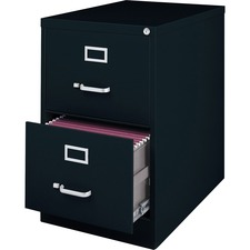 LLR 88043 Lorell Commercial Grade Black Vertical Files LLR88043