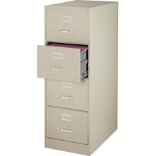 LLR88045 - Lorell Commercial Grade 28.5'' Legal-size Vertical Files