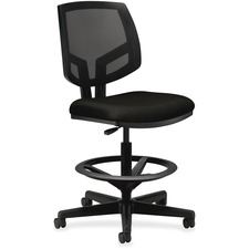 HON 5715GA10T HON Volt Seating Mesh Back Adjustable Task Stool HON5715GA10T
