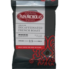 PapaNicholas Coffee Decaf French Roast Coffee