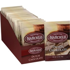 PCO 79224 PapaNicholas Co. Dutch Chocolate Prem. Hot Cocoa PCO79224
