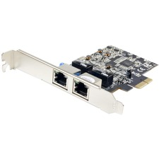SYBA Multimedia Dual Port Gigabit Ethernet Network PCI-e Controller Card