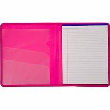 LIO97000PKBX - Lion Plastic Padfolio with Pad