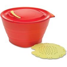 ADD1001303001 - Aladdin Collapsible Steamer Set 32oz - Tomato