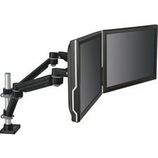 MMM MA260MB 3M Easy-Adjust Dual Monitor Arm MMMMA260MB