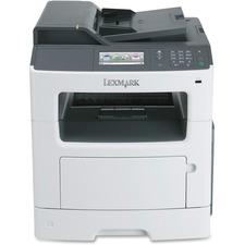 LEX35S5701 - Lexmark MX410DE Laser Multifunction Printer - Monochrome - Plain Paper Print - Desktop