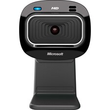 Microsoft LifeCam HD-3000 Webcam - 30 fps - USB 2.0 - 1 Pack(s) - 1280 x 720 Video - CMOS Sensor - Fixed Focus - Widescreen - Microphone