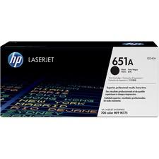 HP 651A (CE340A) Original Toner Cartridge - Single Pack - Laser - 13500 Pages - Black - 1 Each