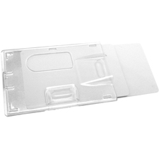 BAU67530 - SICURIX Rigid 2-badge Blocking Smart Card Holder