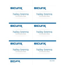 BAU67661 - SICURIX Name Badge Kit Insert