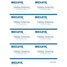 BAU67660 - SICURIX Name Badge Kit Insert