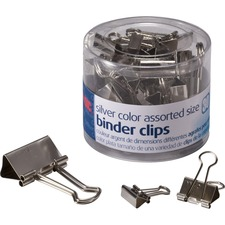 OIC 31021 Officemate Assorted Size Binder Clips OIC31021