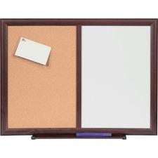 LLR 84171 Lorell Dry-Erase/Bulletin Combo Board LLR84171