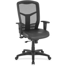 LLR 86207 Lorell Executive Leather Seat High-back Chair LLR86207