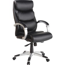 LLR60620 - Lorell Executive Bonded Leather High-back Chair