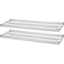 LLR84186 - Lorell Indust Wire Shelving Starter Extra Shelves
