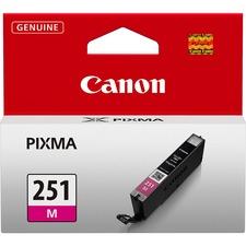 Canon CLI251M Original Ink Cartridge - Inkjet - Magenta - 1 Each