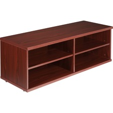 LLR81920 - Lorell Concordia Series Mahogany Laminate Desk Ensemble
