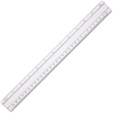 "ACM 15571 Acme 12"" Clear Magnifying Ruler ACM15571"