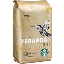 SBK 11019631 Starbucks Veranda Blend Blonde Roast Ground Coffee SBK11019631