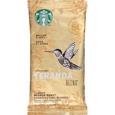 SBK 11020676 Starbucks Veranda Blend Blonde Roast Ground Coffee SBK11020676