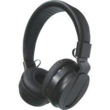CCS 15155 Compucessory Volm. Cntrl Cushion Stereo Headphones CCS15155