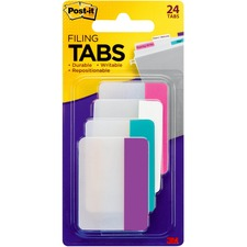 "MMM 686PWAV 3M Post-it 2"" Filing Tabs MMM686PWAV"